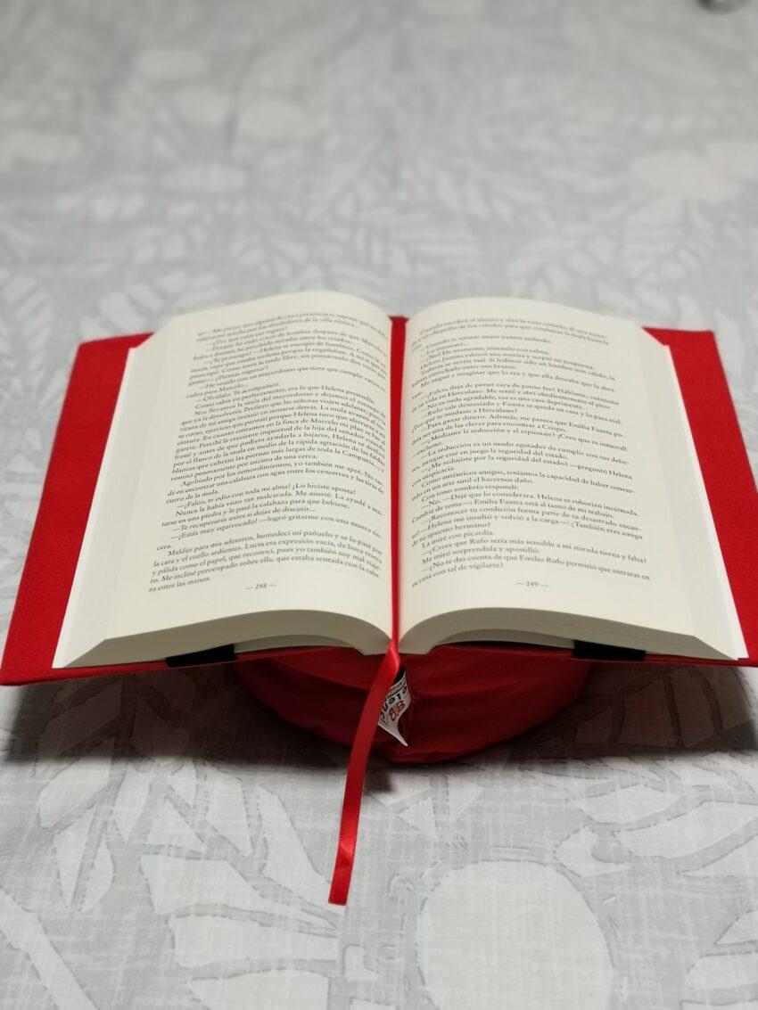 Almohadón de lectura